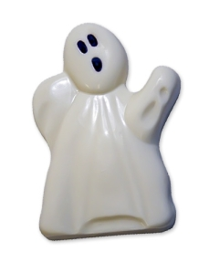 gourmet white chocolate ghost