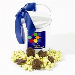 Thanksgivukkah Popcorn and Chocolate Tin from Sugar Plum